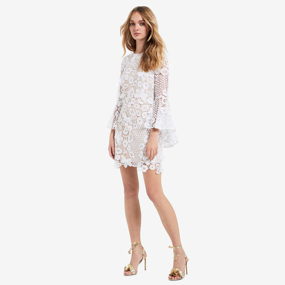 Seed Heritage ivory lace dress
