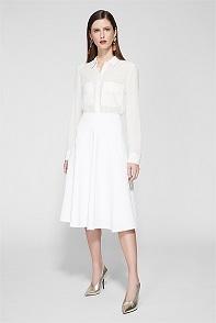 Witchery midi ivory dress