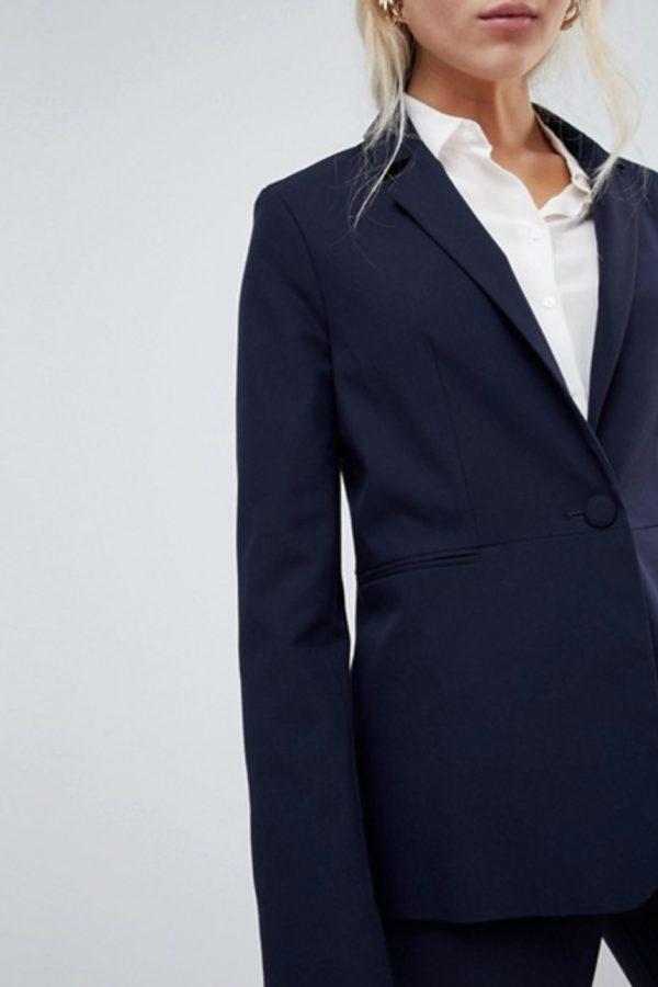 Navy Tailored Blazer