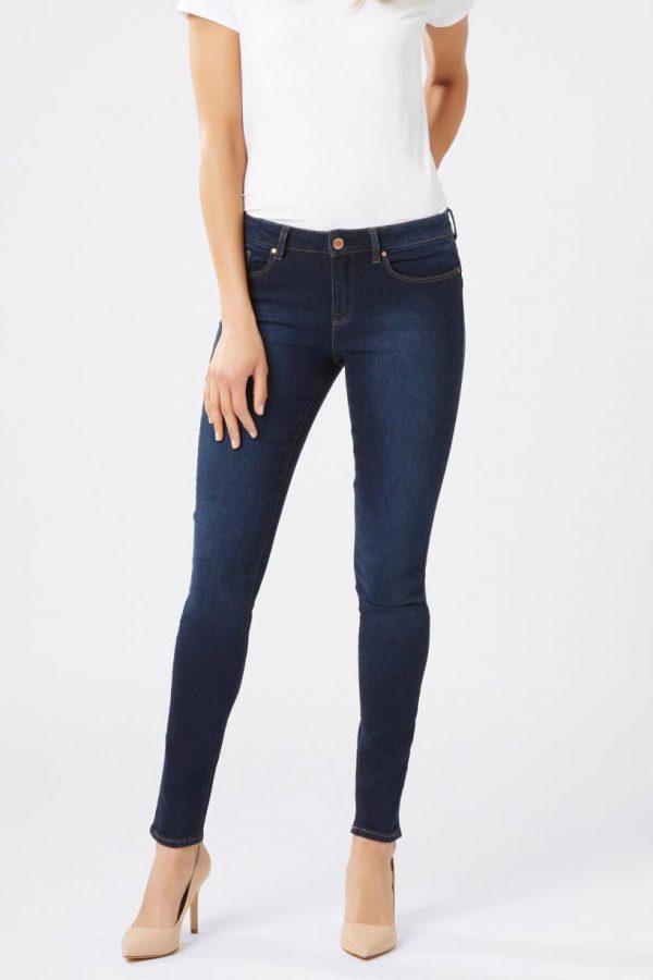 Jeanswest | Butt Lifter Skinny Brushed Indigo $79.99