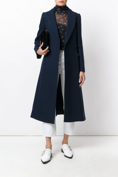 Midnight Blue Vivienne Coat