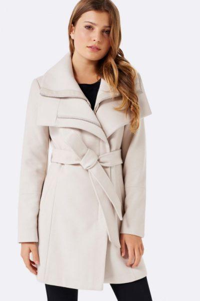 Ivory Wrap Coat