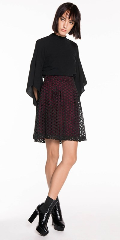 Star Lace Skirt